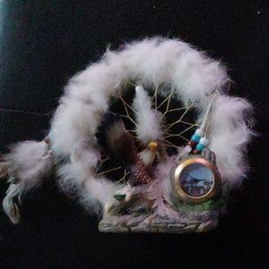 Eagle / clock dreamcatcher